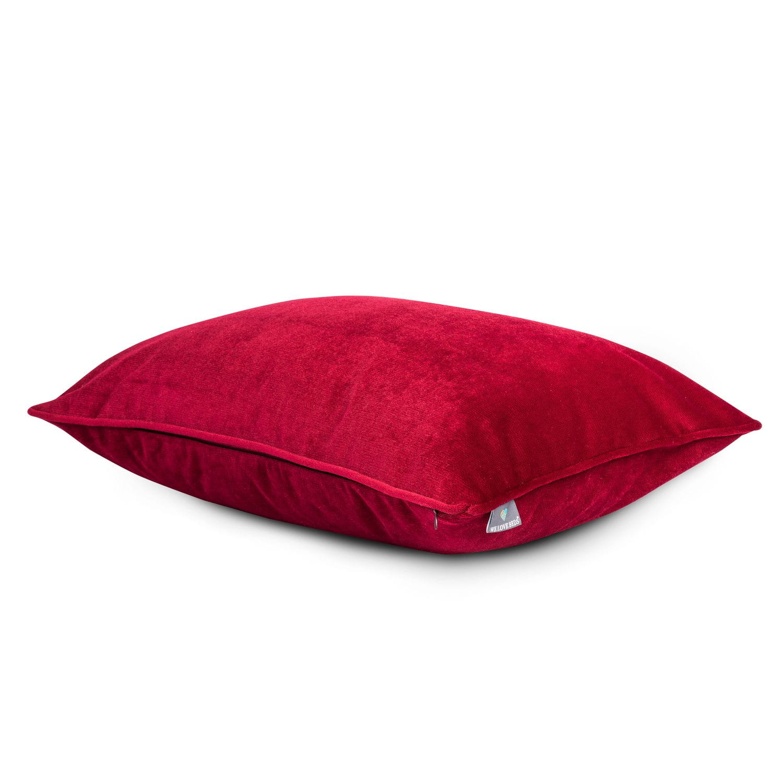 Poduszka dekoracyjna Elegant Burgundy 50x50 cm - We Love Candles&We Love Beds