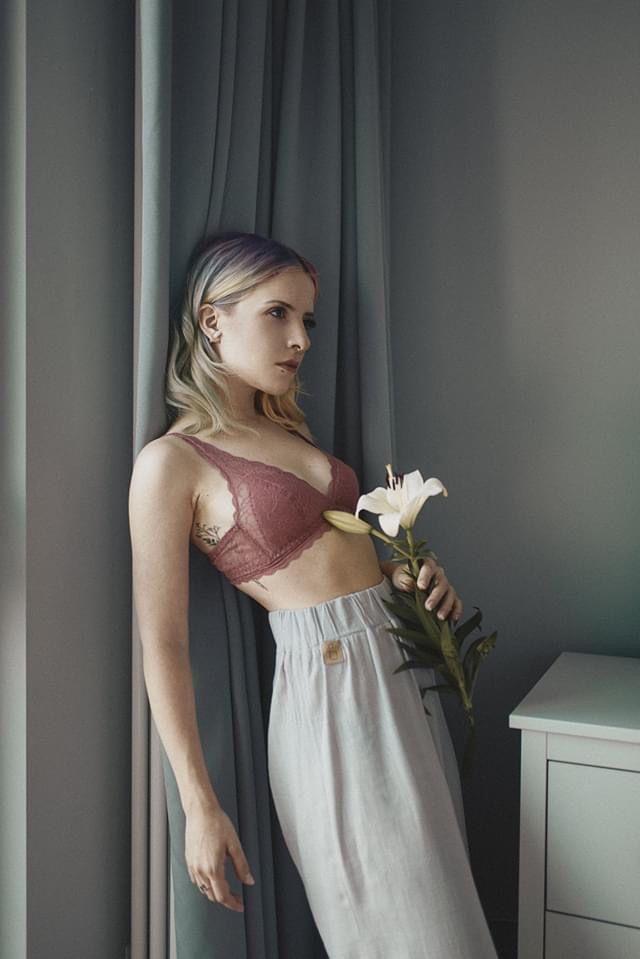 spodnie COMO z lnu i wiskozy / - breath.clothing | JestemSlow.pl