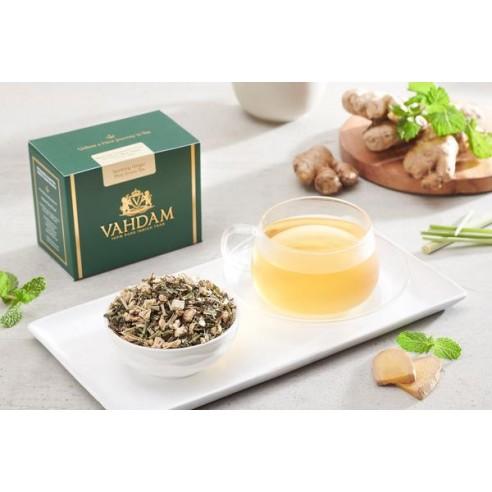Sparkling Ginger Mint Green Tea - Republika Smaków Sp. z o.o.   JestemSlow.pl