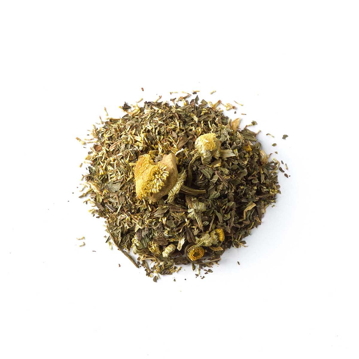 Clea. Blend mięty z koszyczkami rumianku - Brown House & Tea | JestemSlow.pl