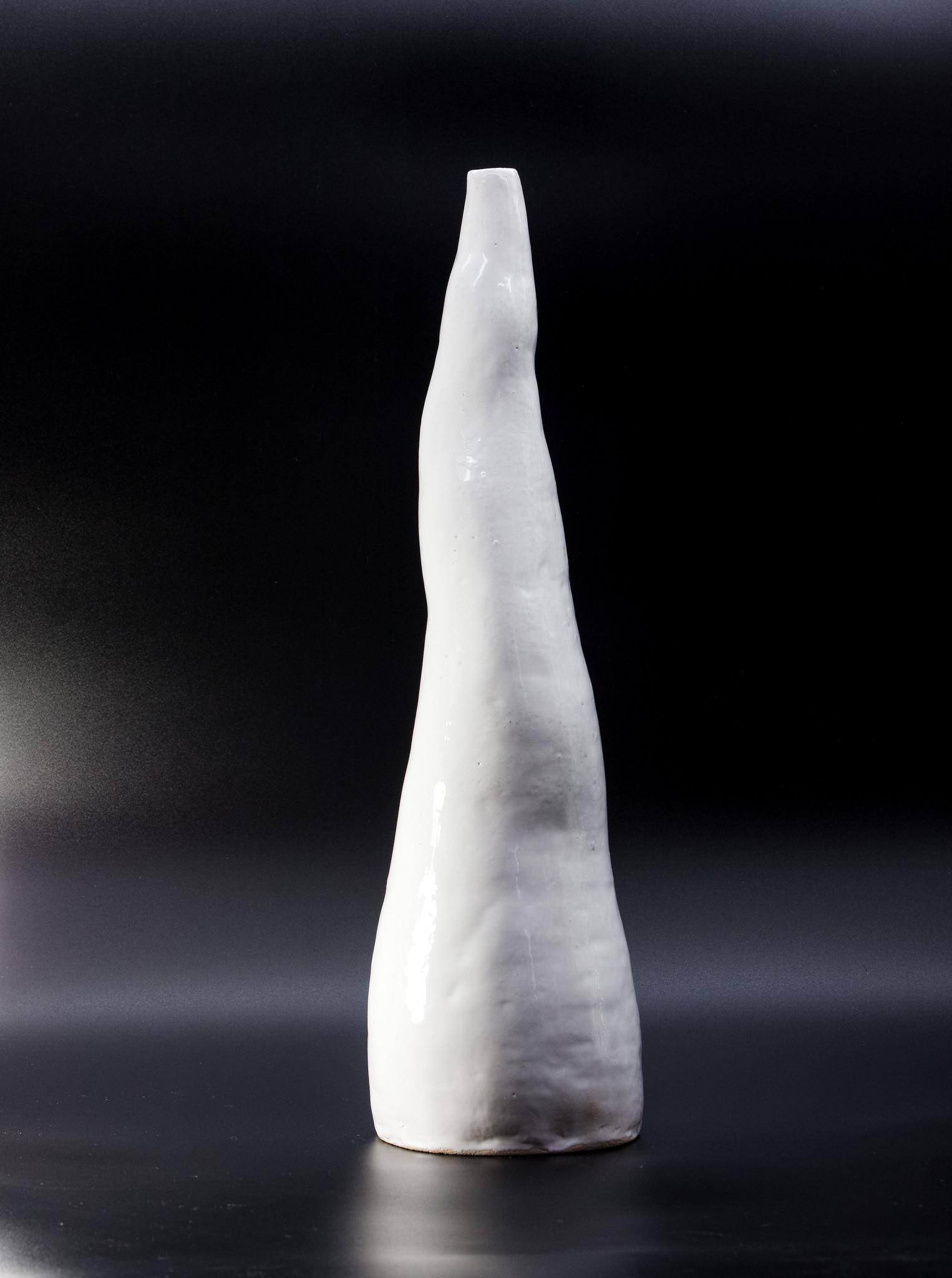 Obiekt ceramiczny ORGANICZNE II / biały - Lui & Clay | JestemSlow.pl