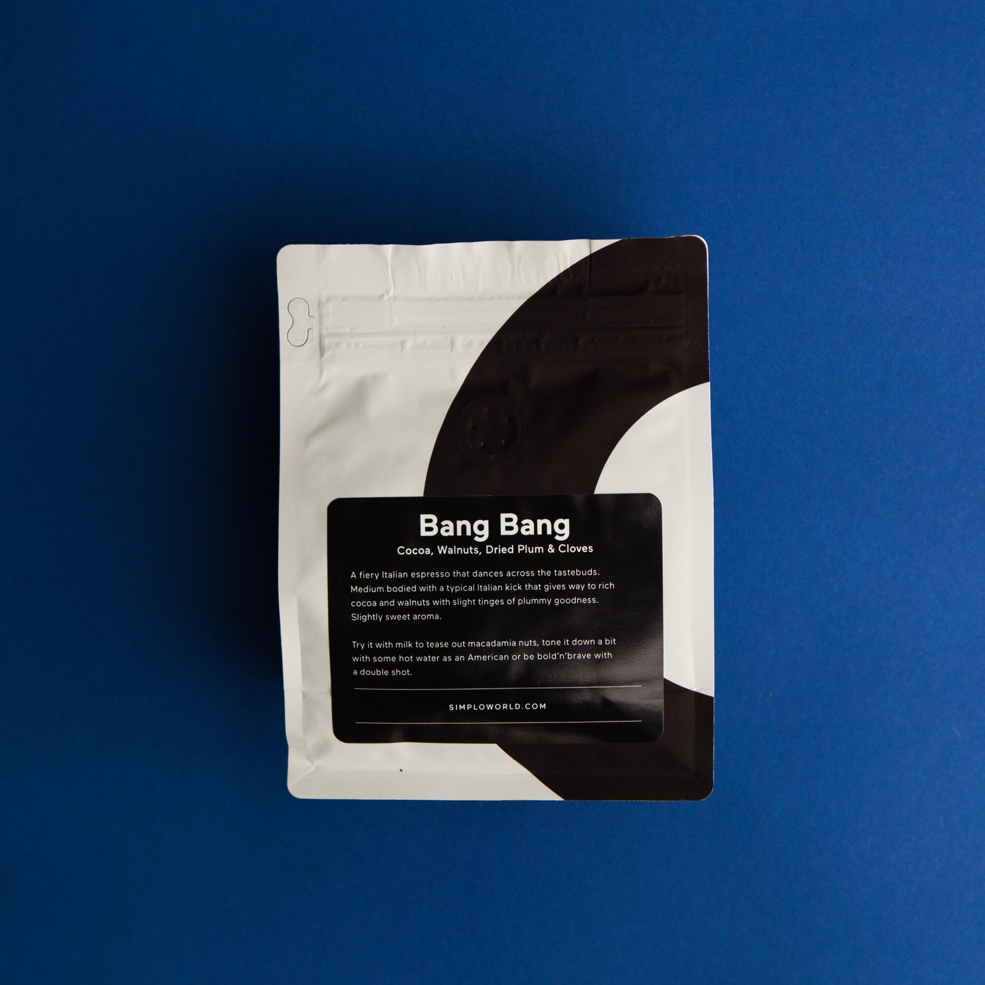 SIMPLo Bang Bang espresso 250g - Coffee Gang | JestemSlow.pl