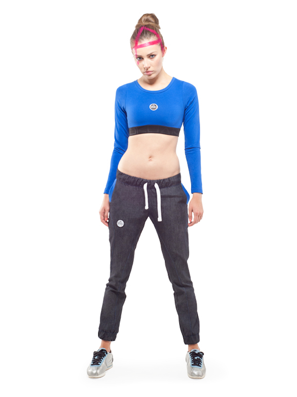 Andromeda Jogger Jeans Pants (Graphite) - Okuaku