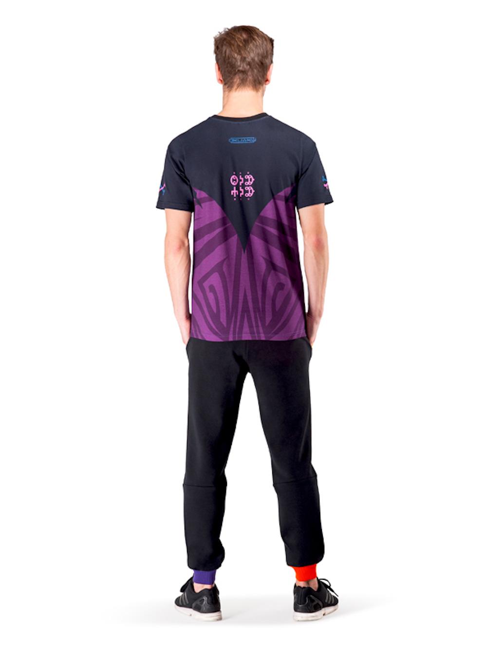 Crystal Skull T-shirt (Violet) - Okuaku