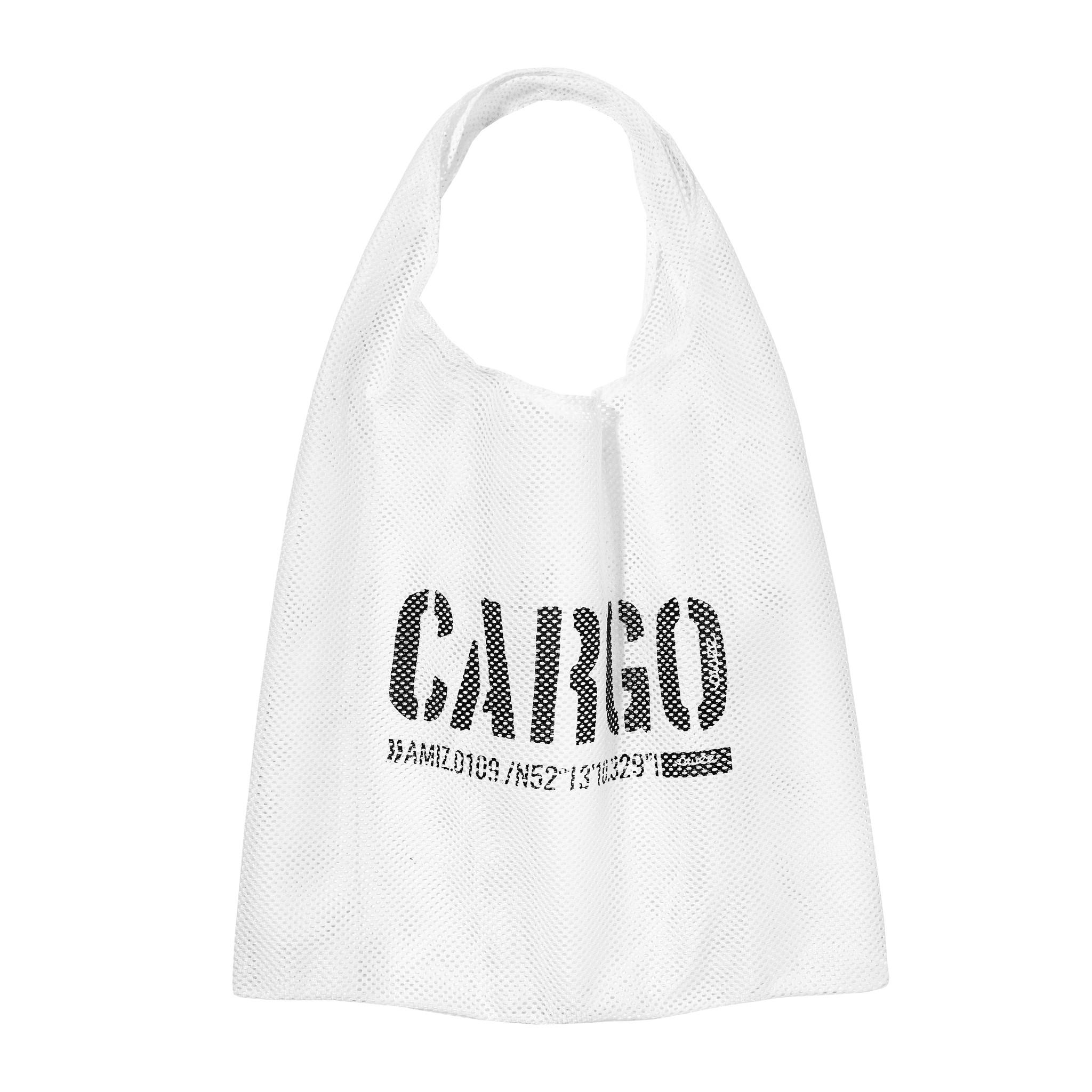 Torba Shopper White Mesh - CARGO by OWEE