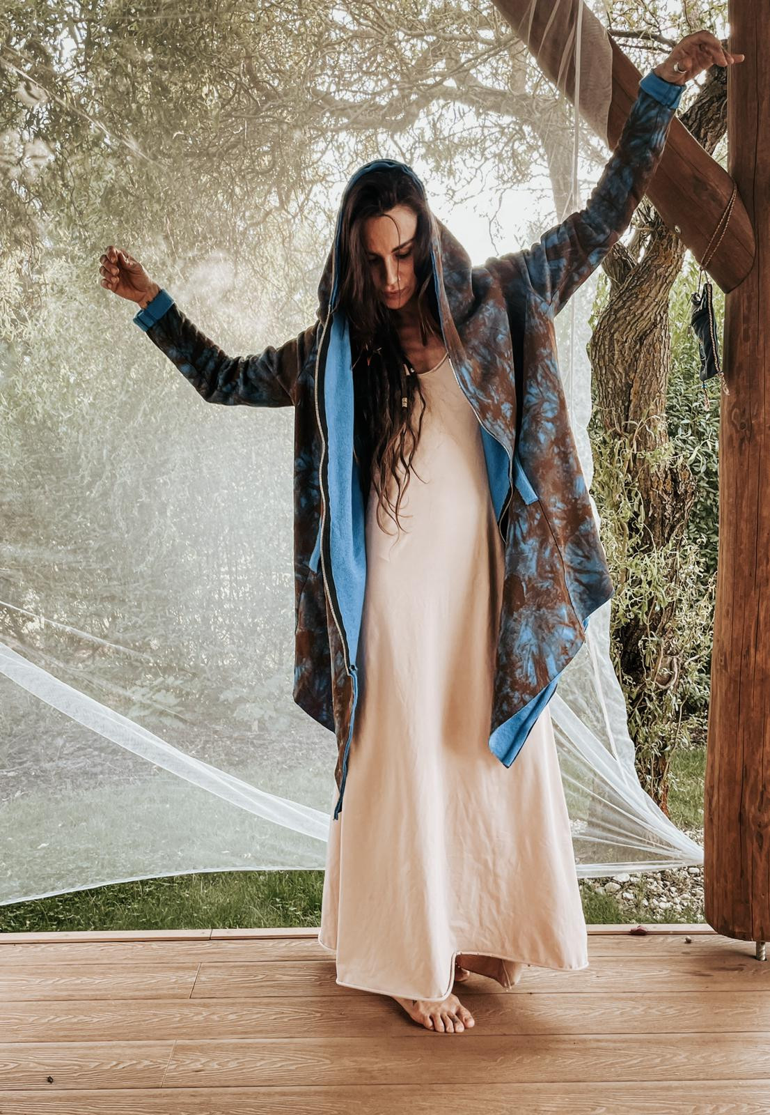 Bluza Tie dye - Agi Jensen Design | JestemSlow.pl