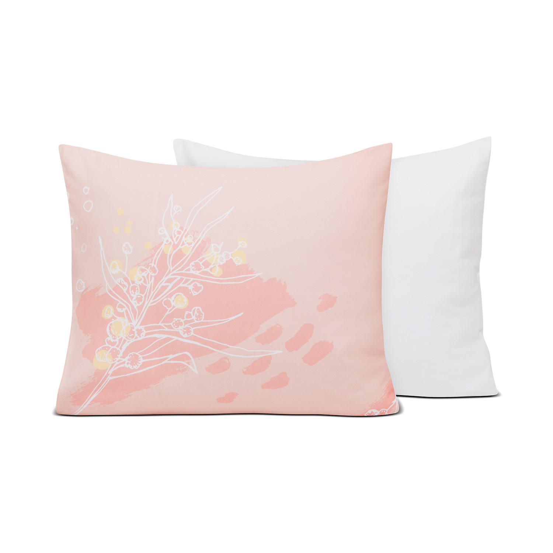 Poszewka na poduszkę Kwiaty Mimozy - Walory Home