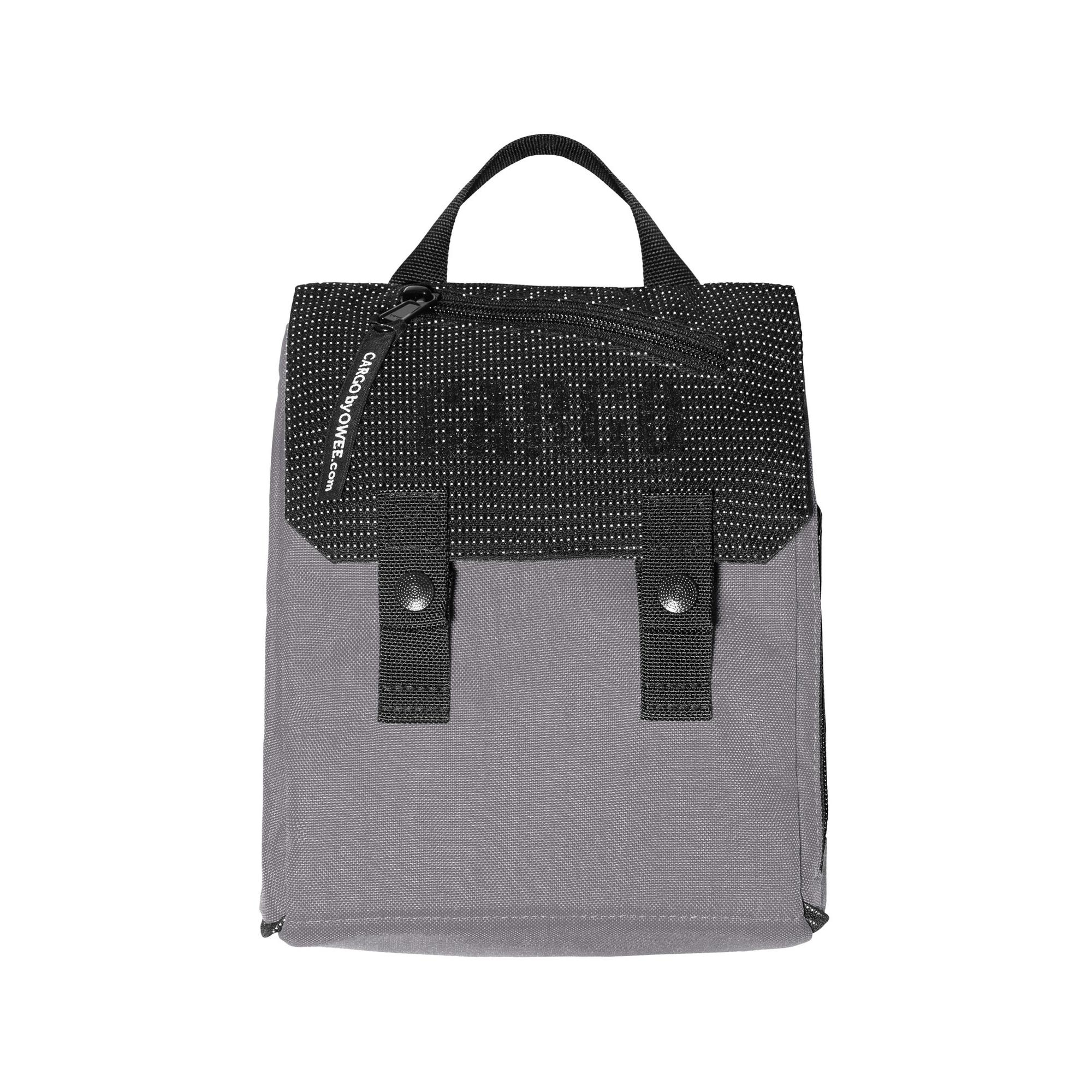 MINI TORBA NA RAMIĘ REFLECTIVE GREY - CARGO by OWEE