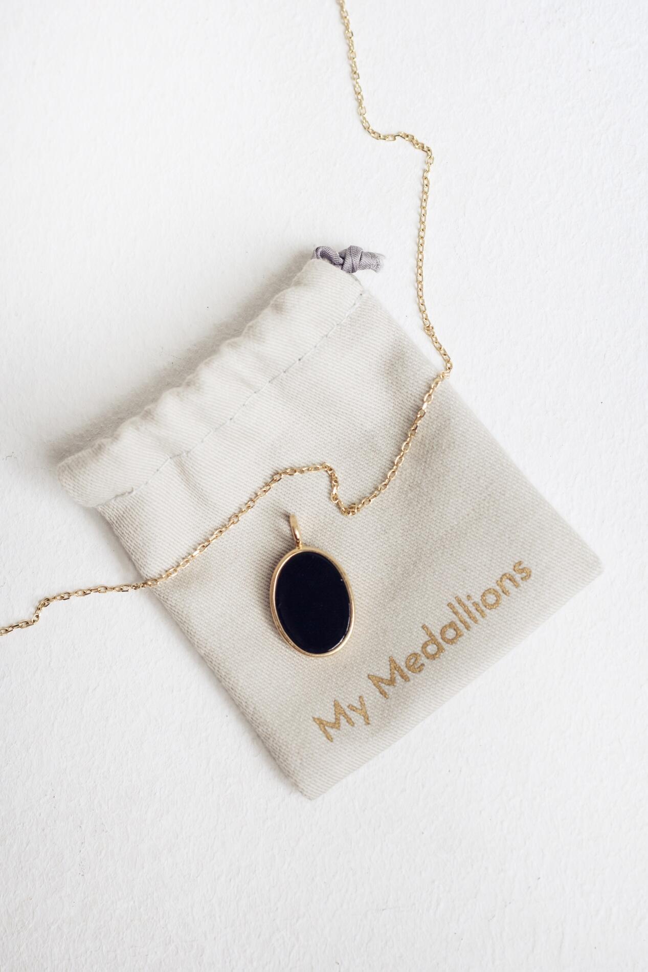 My Medallions Oval Onyks - Yoga Retreatment | JestemSlow.pl