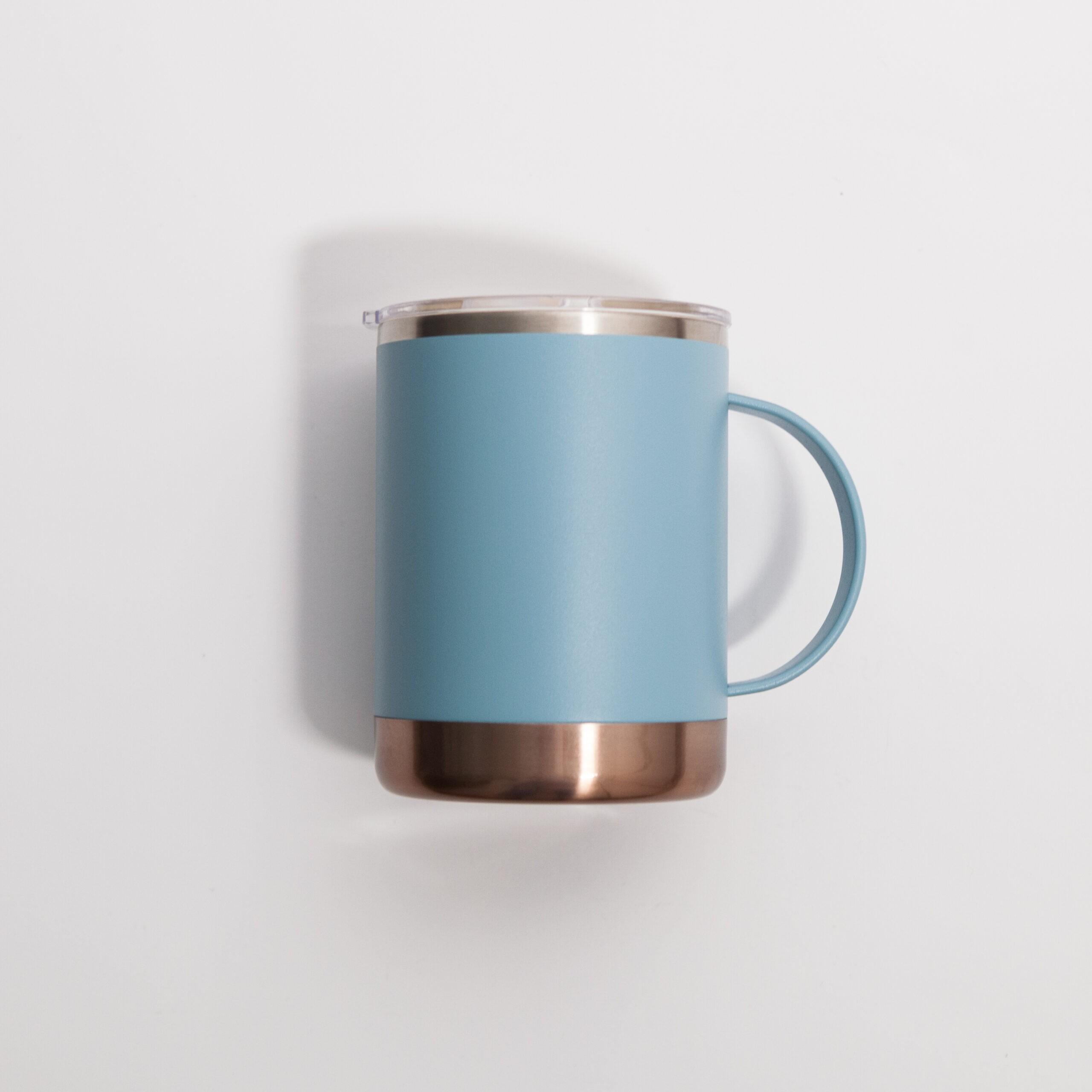 Asobu - Ultimate Coffee Mug Niebieski - Kubek termiczny 360ml - Coffee Gang | JestemSlow.pl