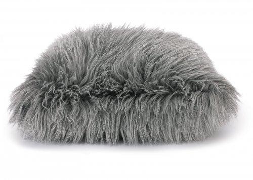 Poduszka dekoracyjna Fluffy Grey 50x50 cm - We Love Candles&We Love Beds | JestemSlow.pl