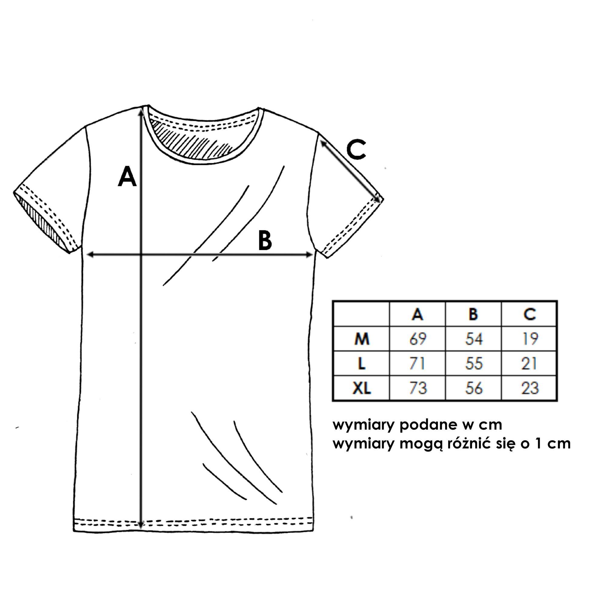T-shirt męski czarny o klasycznym kroju. Mała metka z logo na dole koszulki.100% polska bawełna najwyższej jakości.Dostępne rozmiary: M, L, XL.Tabela rozmiarów dostępna w zdjęciach produktu.