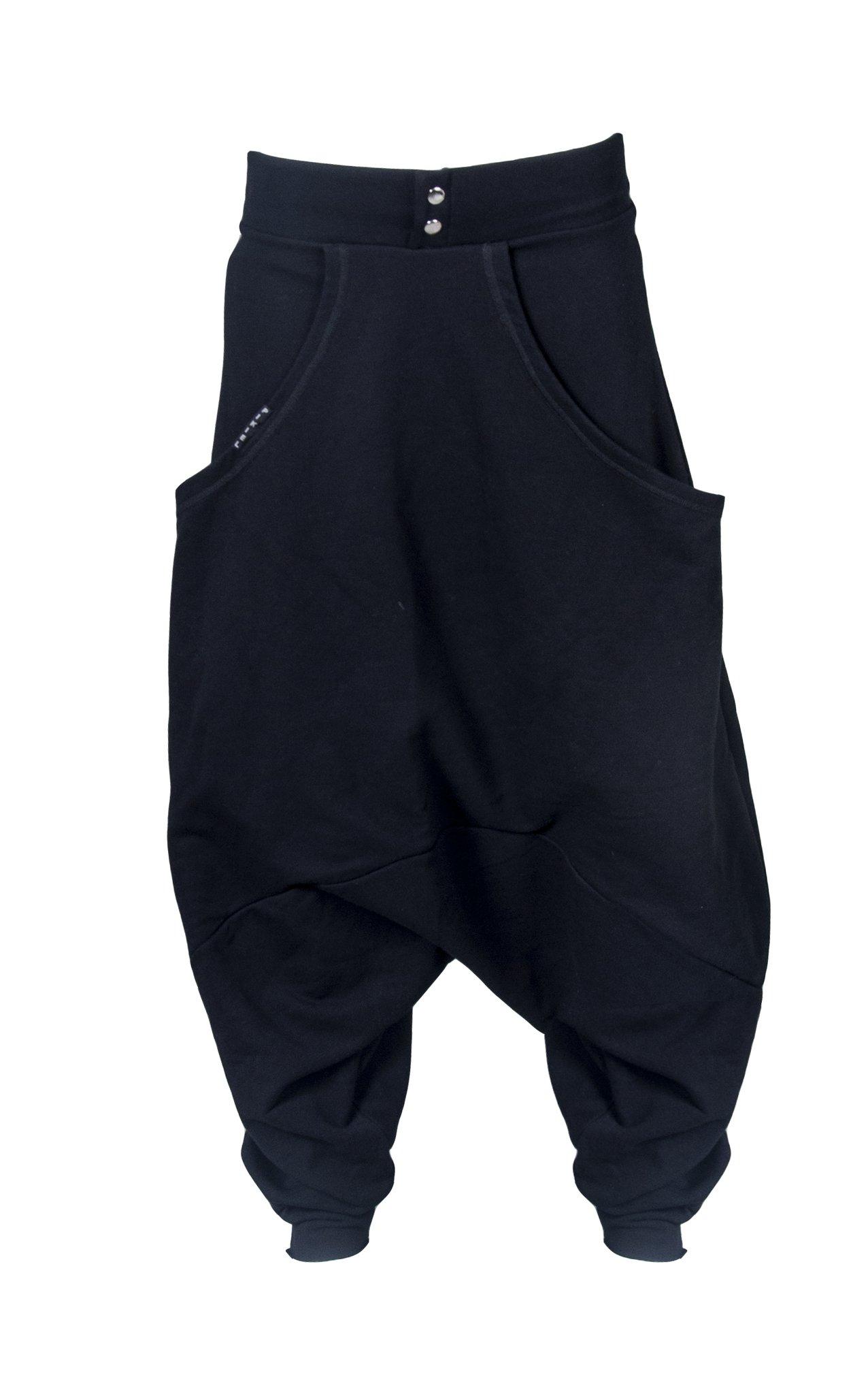 Dzianinowe Czarne Spodnie AICHI - PIKIEL