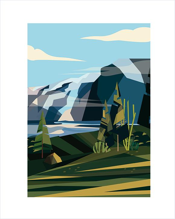 Kaśka - plakat Góry - KABAK