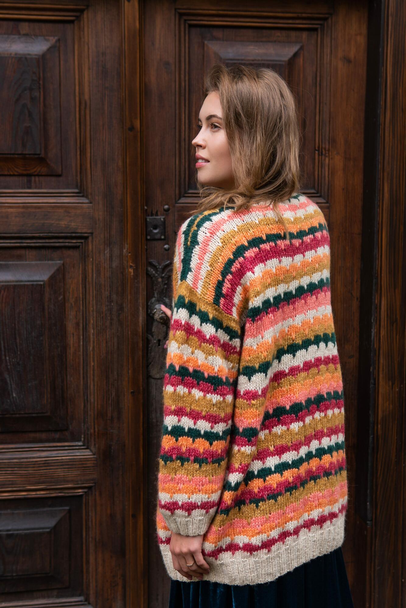 Sweter WILD GAUDI - wełna-alpaka-bawełna - SYLVIA DARA SYLWIA DYDA | JestemSlow.pl
