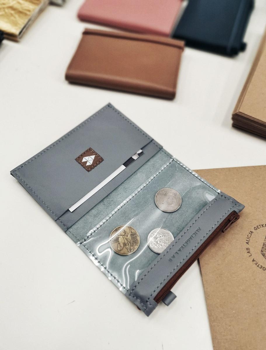 Portfel MINI + Grey - Alicja Getka lab