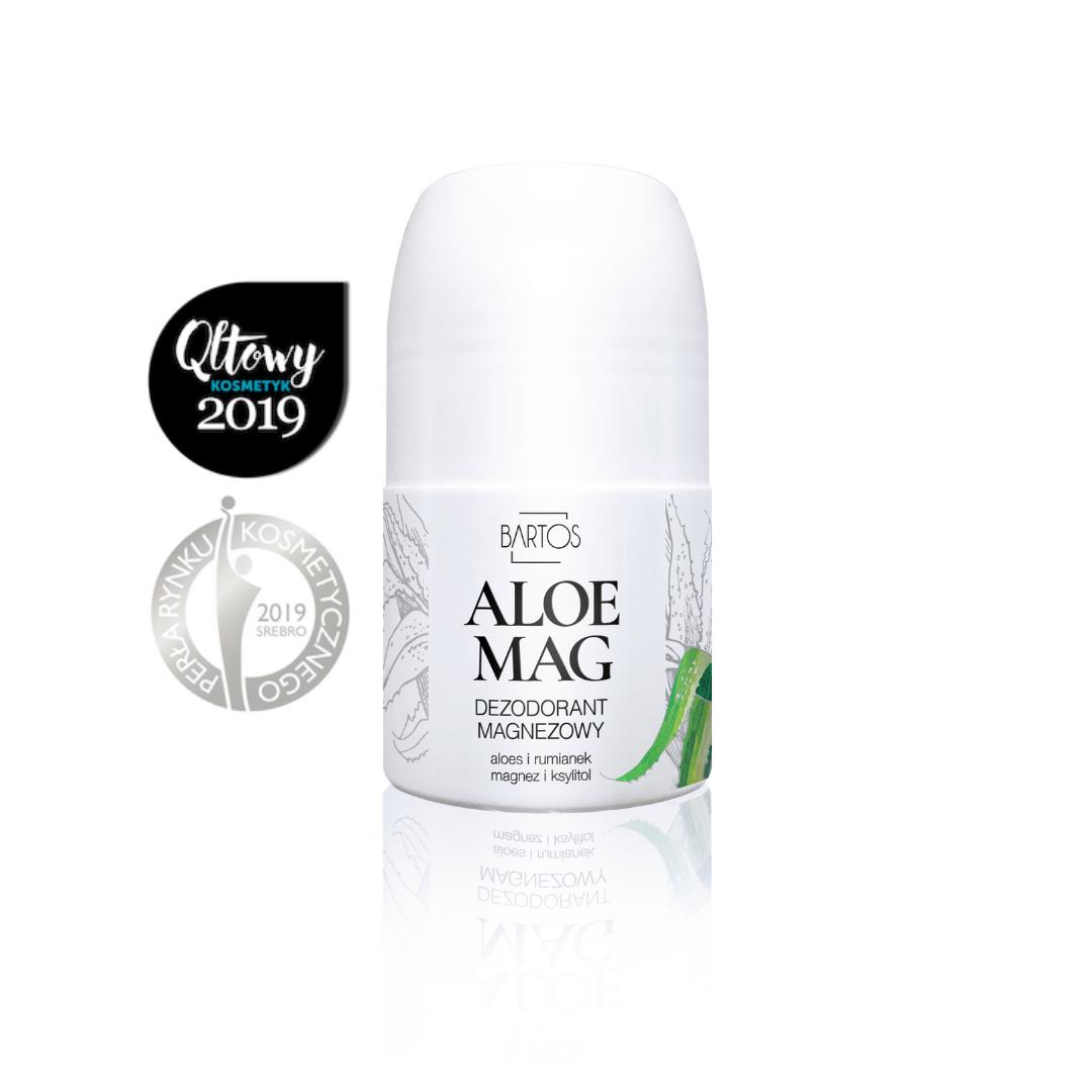 Aloe Mag - dezodorant magnezowy - Bartos Cosmetics   JestemSlow.pl