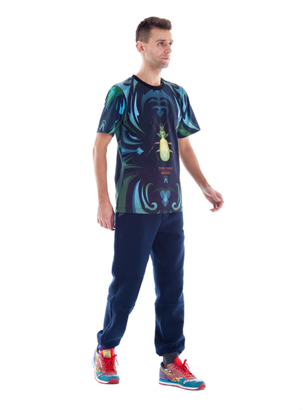 Carabus T-shirt (Dark) - Okuaku
