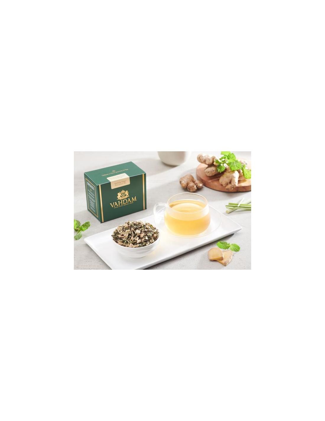 Sparkling Ginger Mint Green Tea - Republika Smaków Sp. z o.o.