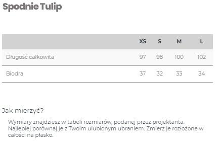 Spodnie BEIGE TULIP - LILY ZEAL   JestemSlow.pl