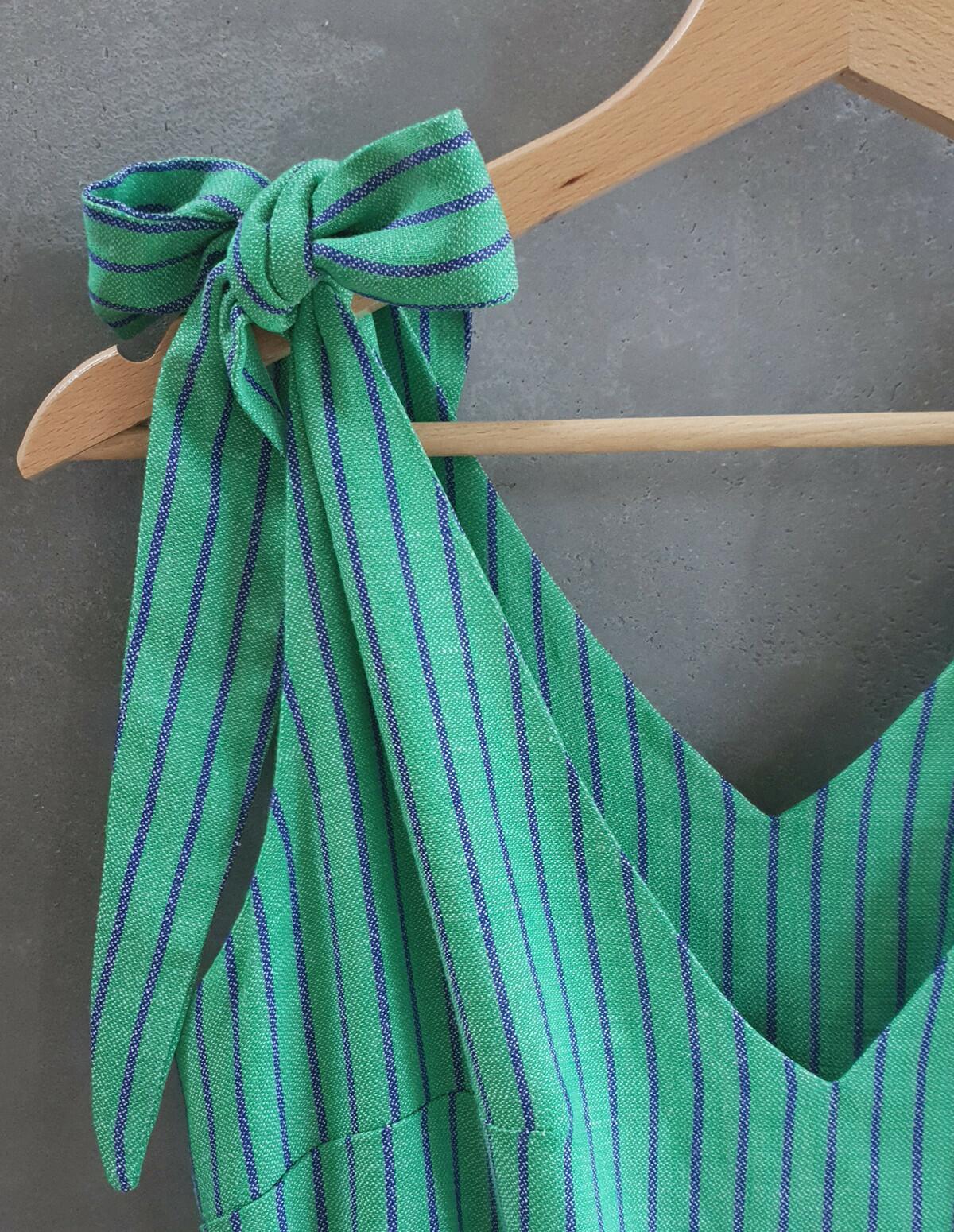 Sukienka boho HUNNY BUNNY maxi zielony - Cocoon   JestemSlow.pl