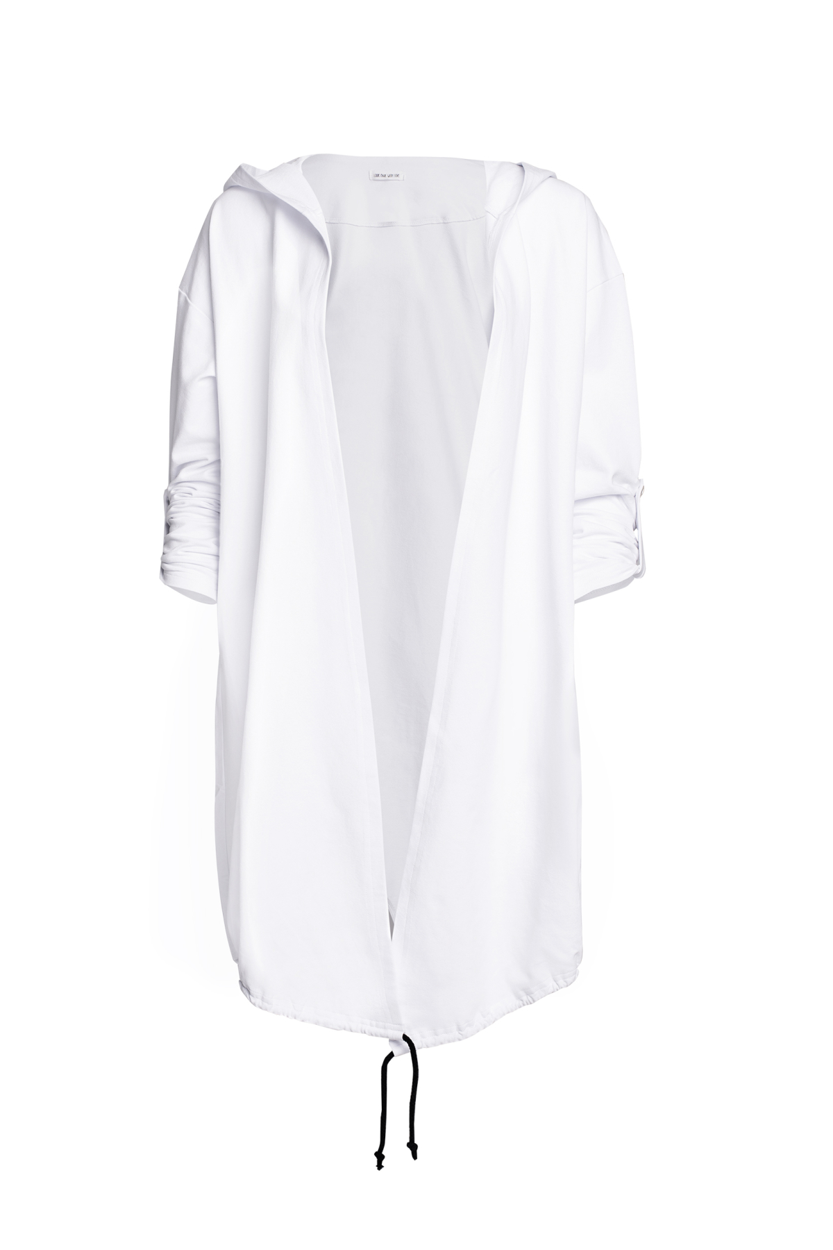 Bluza z kapturem i nadrukiem Magnolia Look 600 LOOK made with Love - Slow Store | JestemSlow.pl