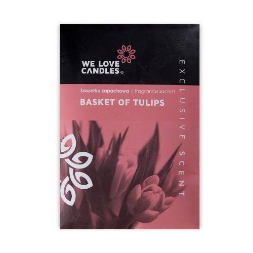 Saszetka zapachowa Basket of Tulips - We Love Candles&We Love Beds