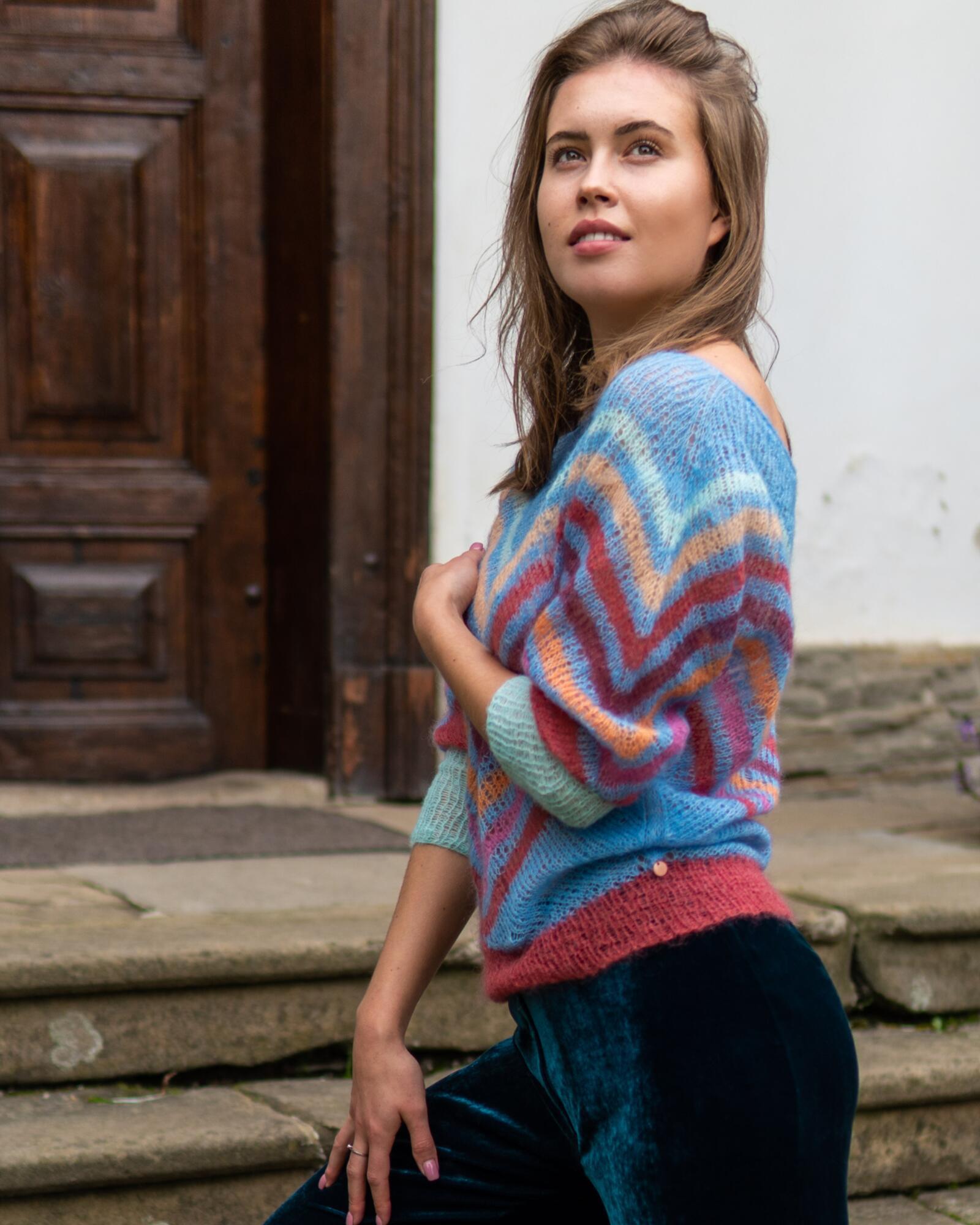 Sweter PORTOFINO - SYLVIA DARA SYLWIA DYDA   JestemSlow.pl
