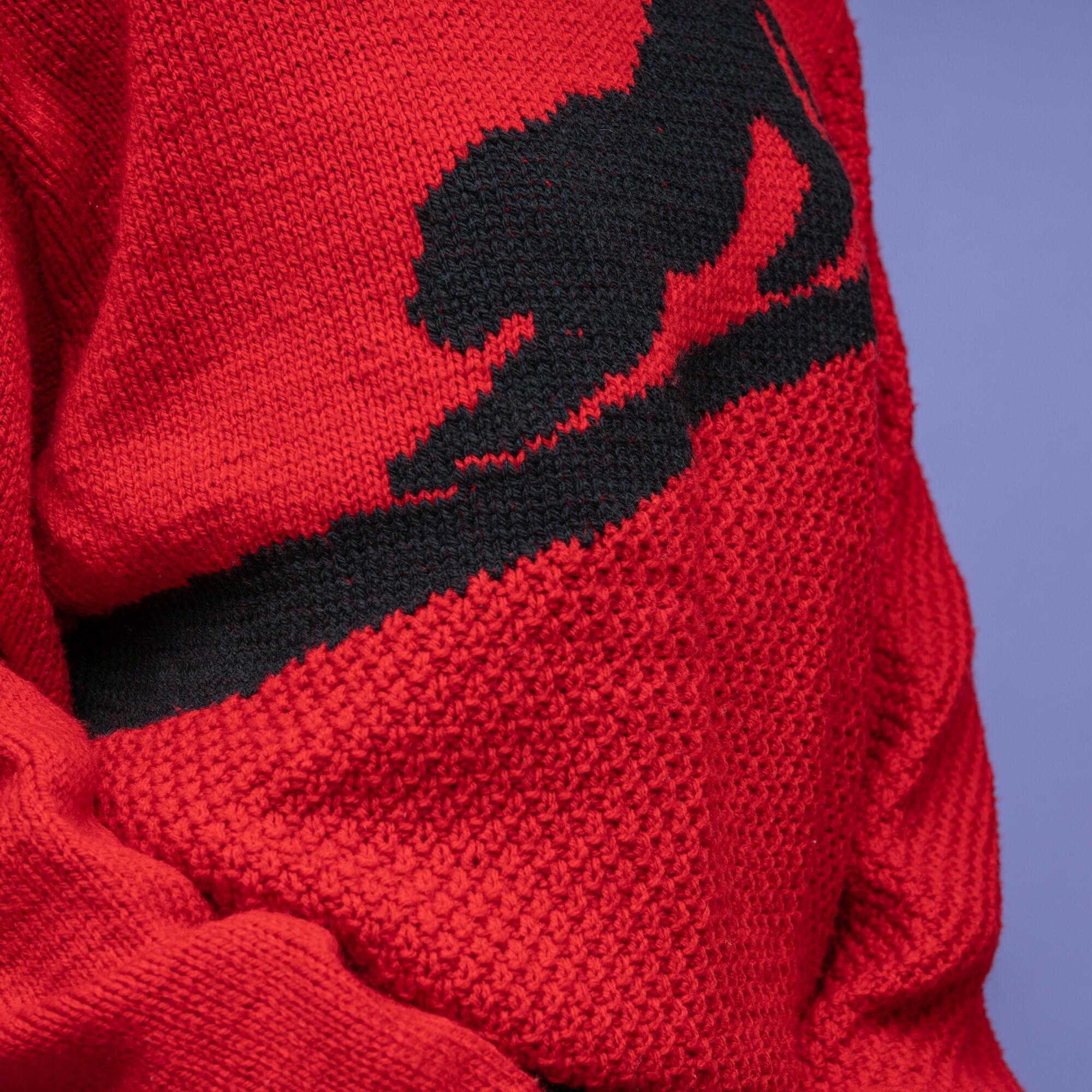 Czerwony sweter pantera - KEX Vintage Store | JestemSlow.pl