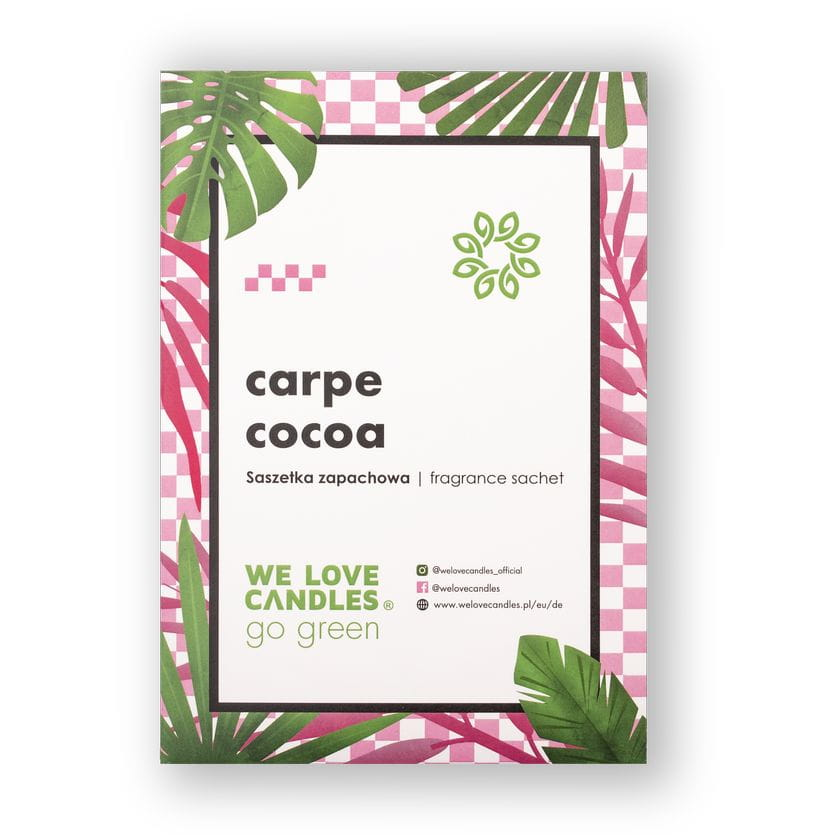Saszetka zapachowa Carpe Cocoa - We Love Candles&We Love Beds