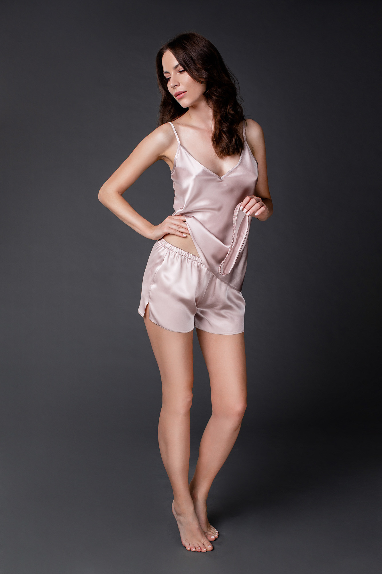 Jedwabna piżama Jasmine - Endorfinella