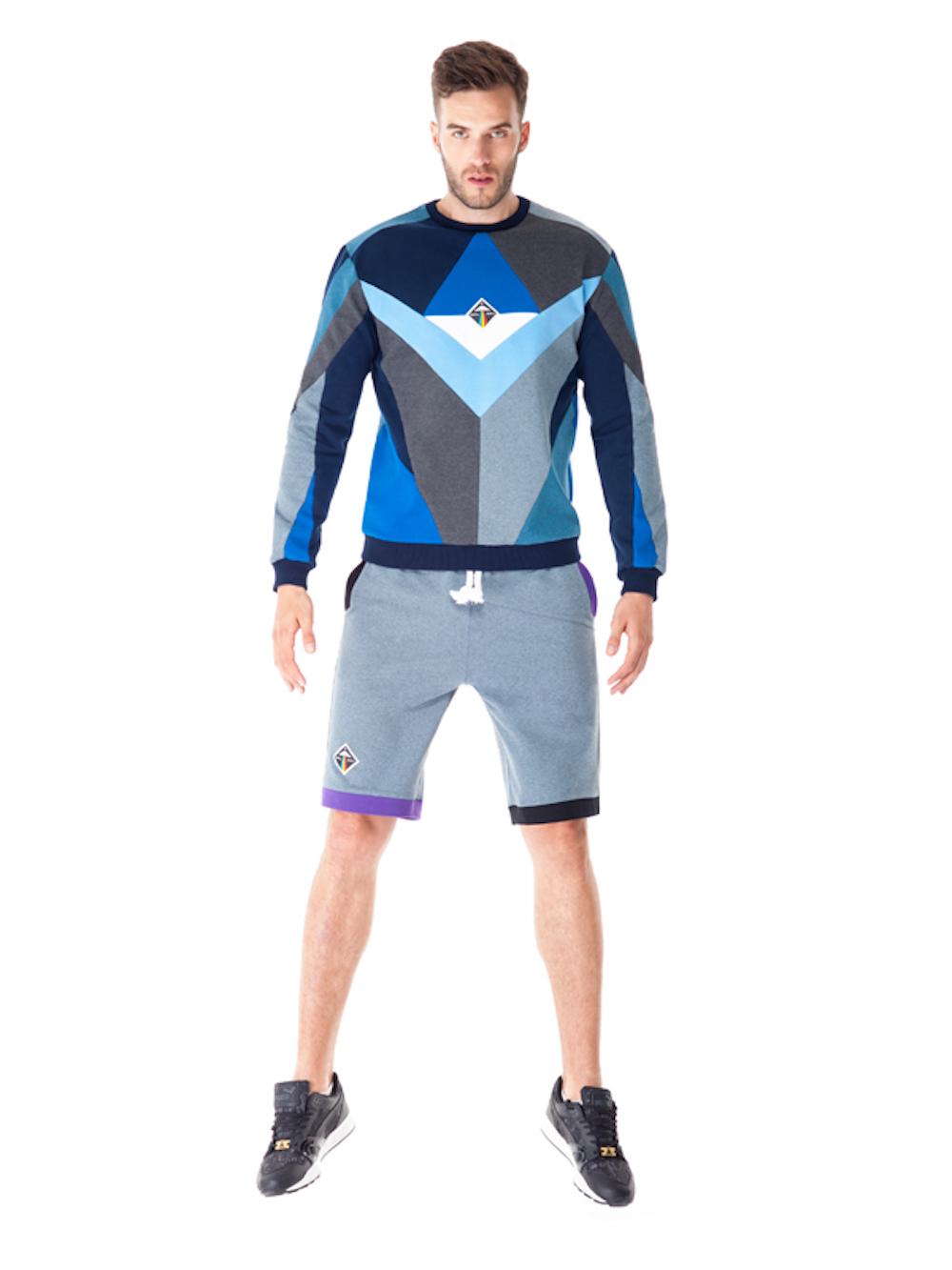 Triangulum Sweatshirt (Blue) - Okuaku
