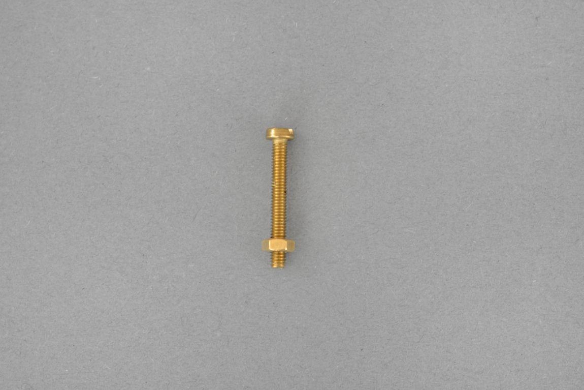 Skórzany uchwyt meblowy Lade Li #2 jasnobrązowy 15 mm - Steil