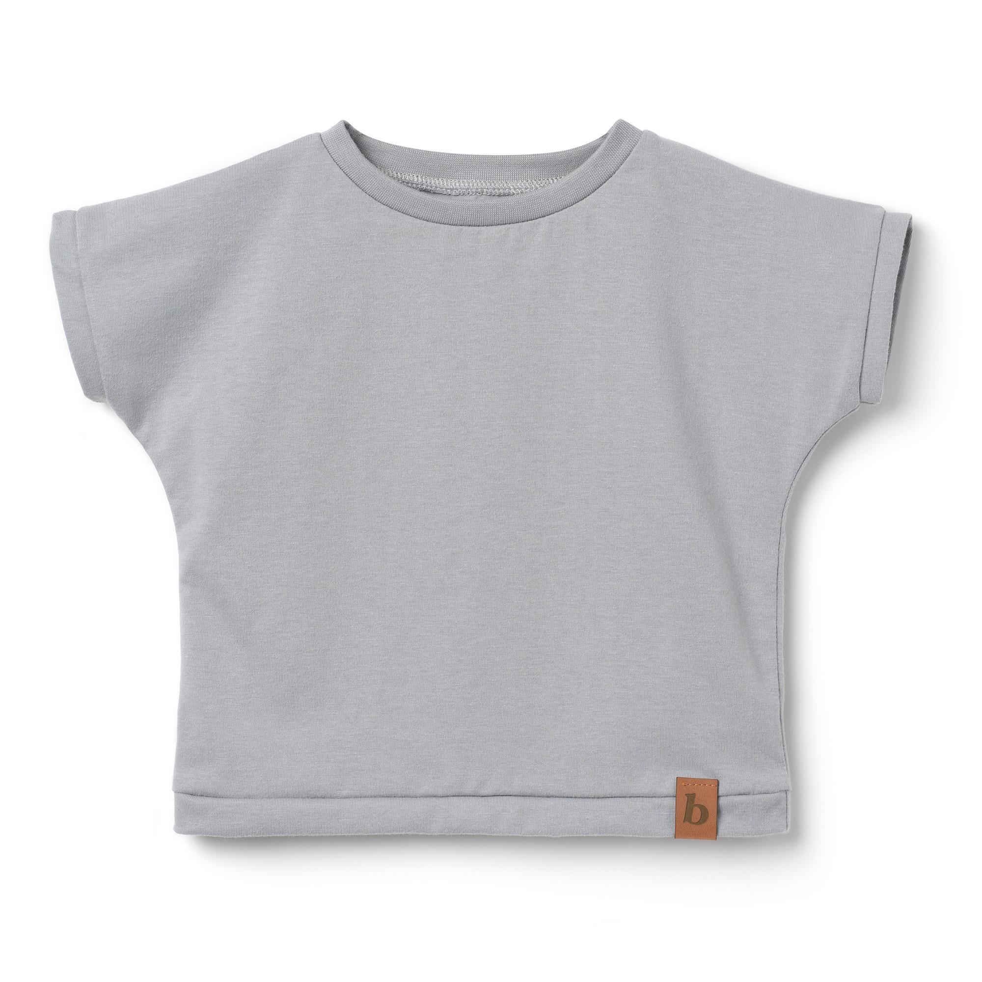 Koszulka dziecięca- szara - Bubalove