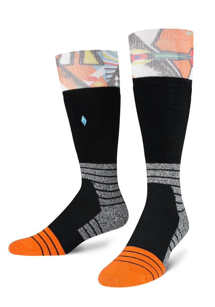 Skarpety męskie na narty i snowboard termoaktywne Ronin VA Socks polski projektant - VA Socks