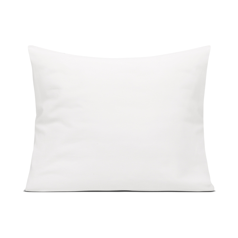 Jednokolorowa poszewka na poduszkę w białym kolorze Wykonana z miękkiej i przyjemnej w dotyku tkaniny 100 bawełny o splocie satynowym gramatura 140 g m2 tkanina oraz nadruk posiadają certyfikat Oeko Tex Standard 100 klasy I który gwarantuję że pościel nie wywołuje podrażnień Jest bezpieczna dla niemowląt oraz alergików poszewki na poduszki z dyskretną zakładką ręcznie malowany wzór przez polskich projektantów uszyta w rodzimej szwalni poszewka nie obejmuje wypełnienia produkt całkowicie zaprojektowany i wyprodukowany w Polsce
