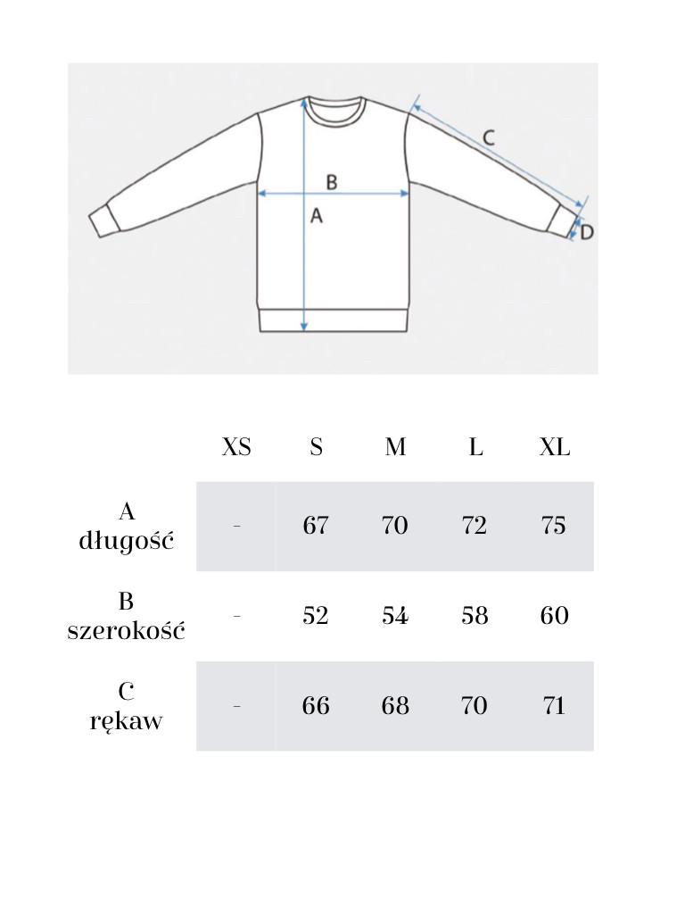 Brązowa bluza unisex CREWNECK J HONEY - Jimmy Jinx