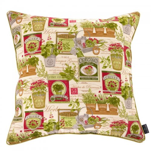 Poduszka dekoracyjna Herbs 60x60 cm - We Love Candles&We Love Beds | JestemSlow.pl