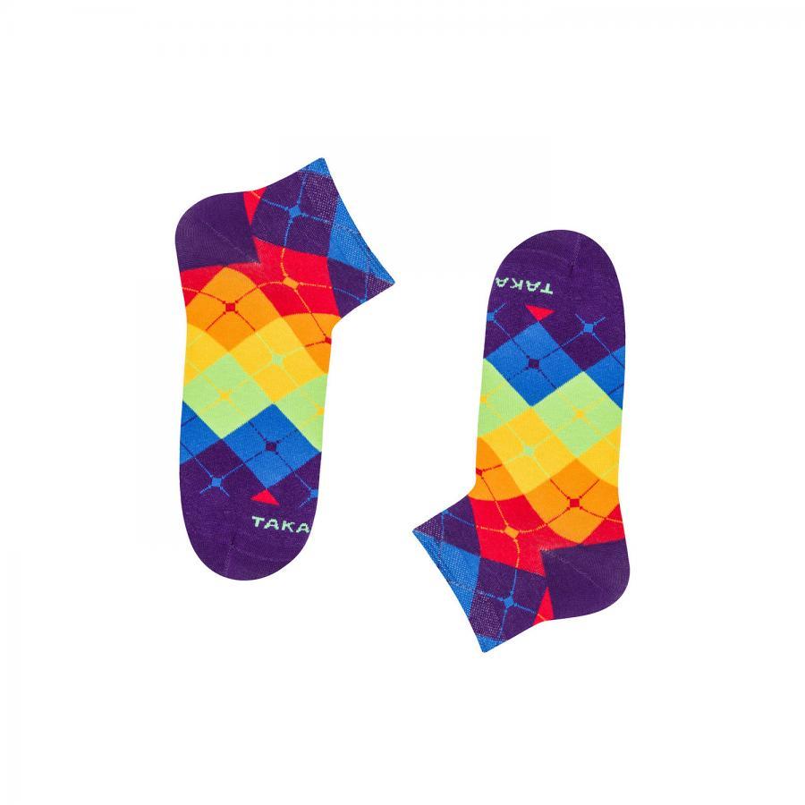 Kolorowe stopki - Tylna 99m2 - Takapara | JestemSlow.pl