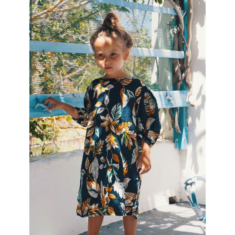 Sukienka w Kwiaty z bufkami - Mizerki Kids
