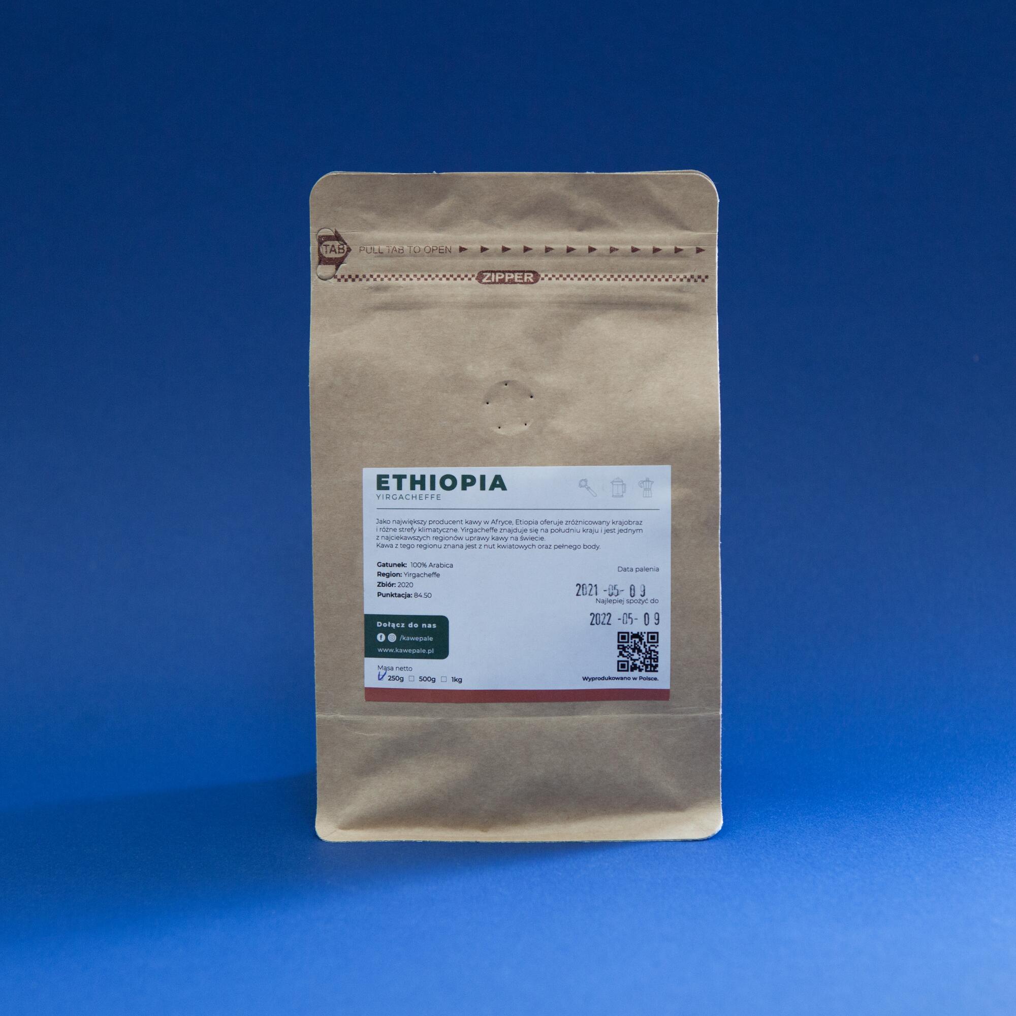 Kawepale Etiopia Yirgacheffe grade 1 250g - Coffee Gang | JestemSlow.pl