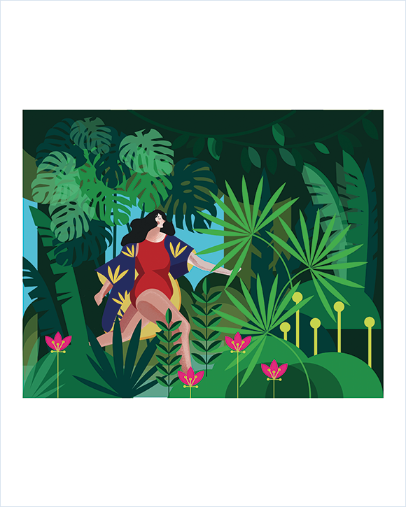 Kaśka - plakat Dżungla - KABAK
