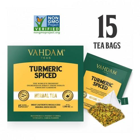 Turmeric Spiced Herbal Tea Tisane - Republika Smaków Sp. z o.o.   JestemSlow.pl