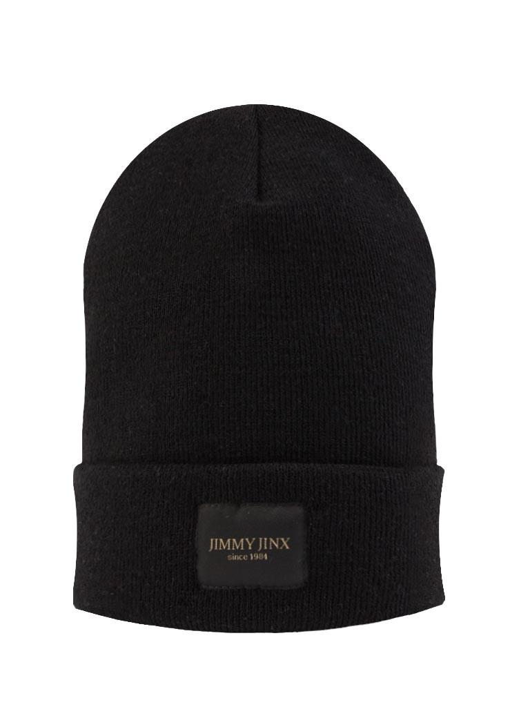 Black JJ BEANIE czapka czarna - Jimmy Jinx