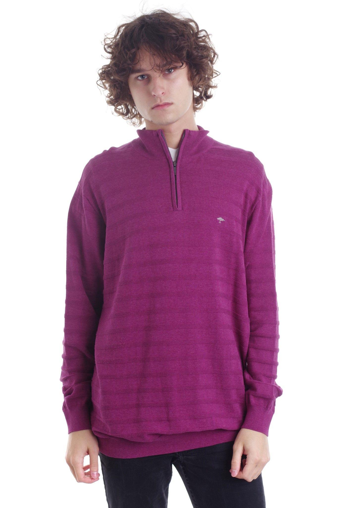 Casualowa bluza marki Fynch - Hattol w kolorze fioletowym - KEX Vintage Store | JestemSlow.pl