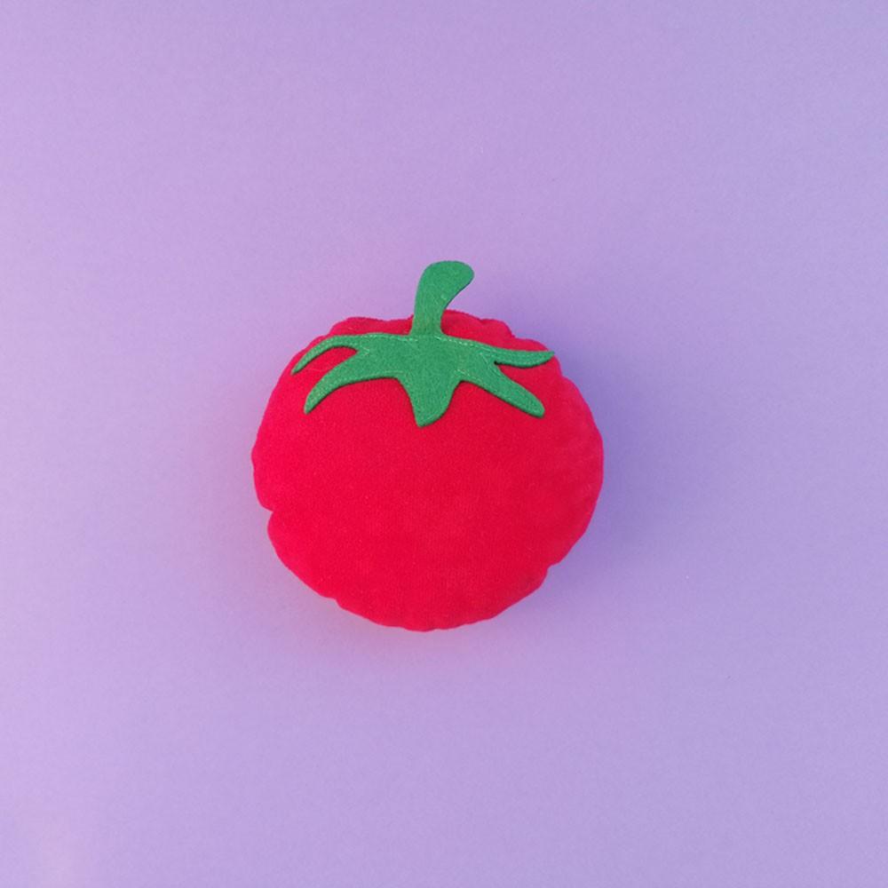 Pluszowa zabawka - Pomidor z dzwoneczkiem.