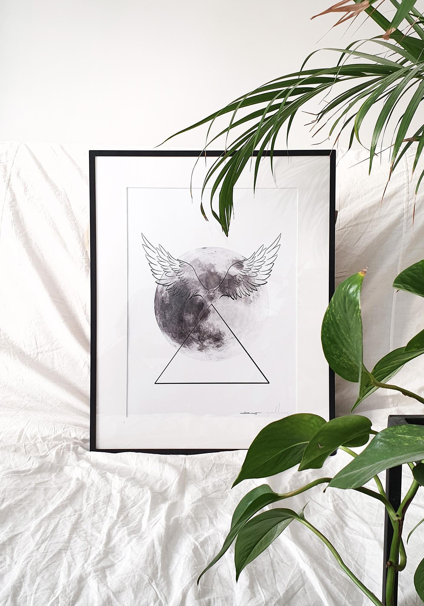 plakat Moon Girl   Dziewczyna z Księżyca - zew.gallery   JestemSlow.pl