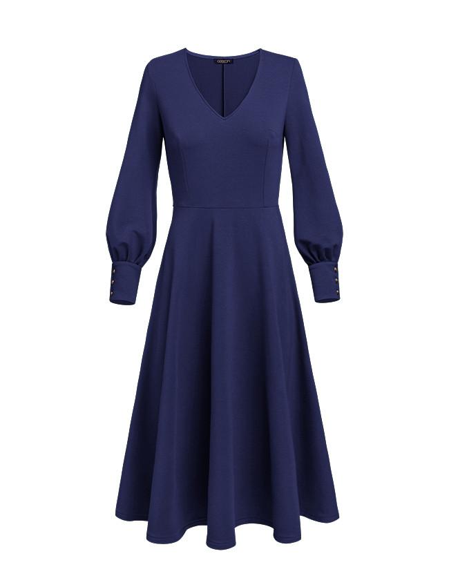 Sukienka LUKRECJA navy - Cocoon