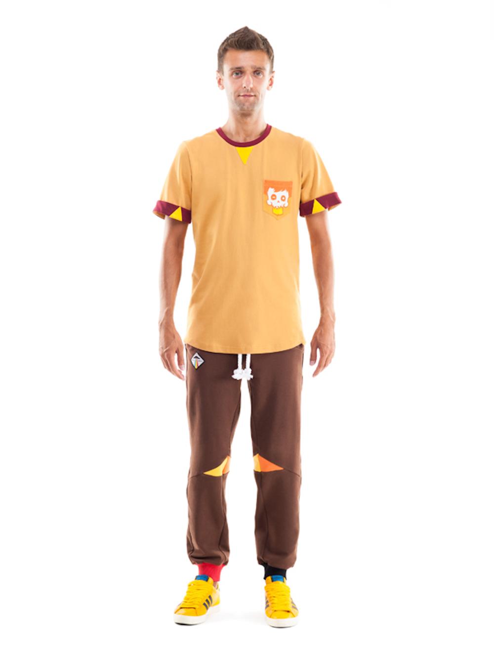 Serpens Sweatpants (Brown) - Okuaku