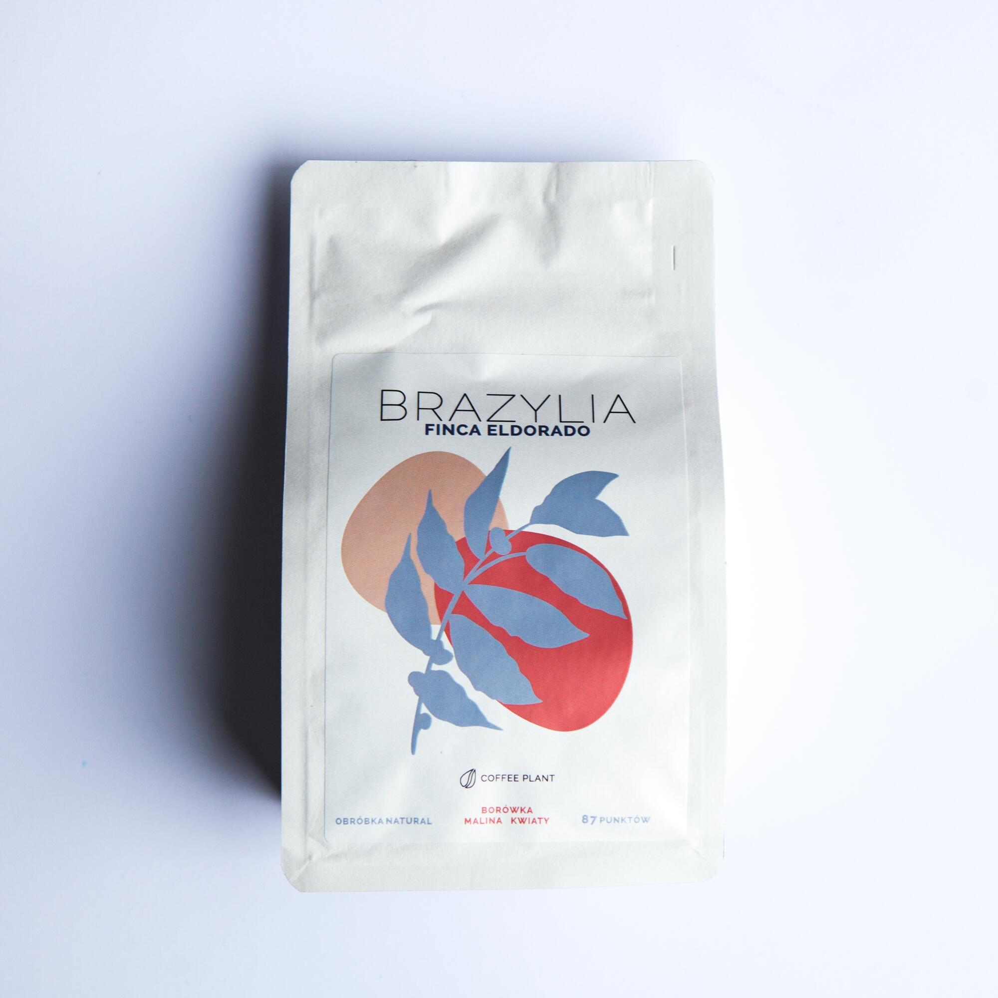 Coffee Plant Brazylia Finca Eldorado 250 g - Coffee Gang   JestemSlow.pl